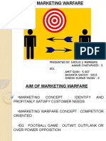 Marketing Warfare
