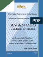 Avances 230. Jorge Ordoñez