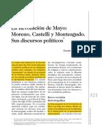 Discursos Politicos Moreno Monteagudo Castelli Noemí Goldman
