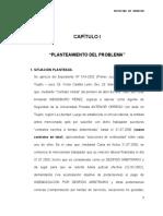 Planteamiento Del Informe Cazs