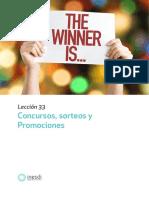 Concurso Sorteos y Promociones