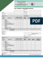 Form 137-A Munoz NHS