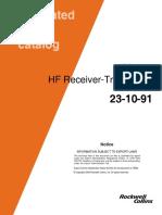 HF Receiver Transmitter