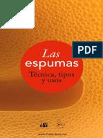 La espumas Técnica tipos y usos.pdf