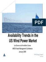 AWEA Asset Mgmt Jan 2009 Availability Trends in the US(1)