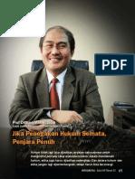 Prof Dr Jimly Asshiddiqie (Ketua Dewan Kehormatan Penyelenggara Pemilu)