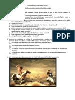 Mito de La Creación de Los Indios Pampas y actividades para trabajar en el aula