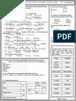 TC Diagnostic Test