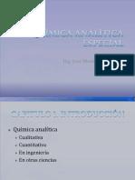Química Analítica Especial Cap1 Introduccion