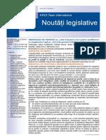 APEX Team Noutati Legislative 1 2017