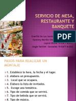 Servicio de mesa, restaurante y banquete.pptx