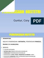 Pemeriksaan Klinik Obstetri Ppt