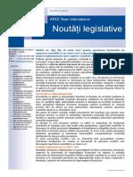 APEX Team Noutati Legislative 6 2017