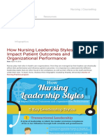 How Nursing Leadership Styles Can Impact Patient Outcomes and Organizational Performance _ Bradley University Online