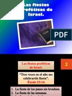 Las Fiestas Proféticas de Israel.