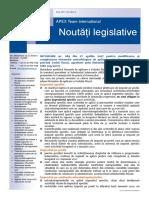 APEX Team Noutati Legislative 5 2017
