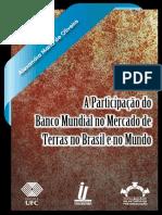 A Participação Do Banco Mundial No Mercado de Terras No Brasil