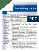 APEX Team Noutati Legislative 4 2017