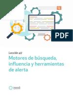 Motores de busqueda indicadores influencia y herramientas de alerta
