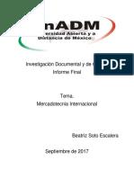 Beatriz Soto Informe