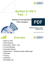 Ns 3 Workshop Part1