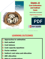 Chapter 15 - Cost Estimation.ppt