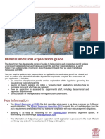 Mineral Coal Exploration Guideline