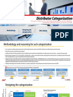 Distributor  Categorization module