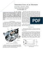 156358164 Open Circuit Saturation Curve of an Alternator EXPT8