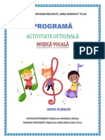 0 Activ Opt Muzica Vocala