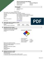Anexo 6 Cloruro de Magnesio MSDS