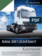 Actros 2641 LS 6X4