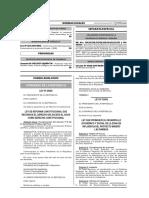 Ley 30588 Ley de Ref Const d° constituc al agua