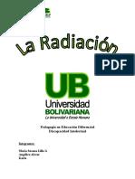 Monografia - La Radiacion y Sus Efectos - Copia