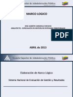 Marco Logico Dnp Resumen