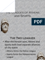 The Leagues of Athens and Sparta