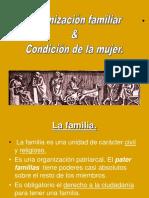 Organización Familiar & Condición de La Mujer.