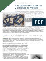 1450206000 Adventistas Del Sptimo Da El Sbado Lunar y El Tiempo de Angustia Article