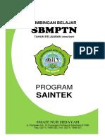 Cover Saintek