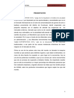 Plan de Marketing de Exportacion de Anis de Peru a China