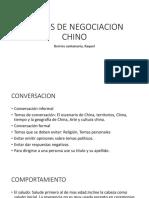 Estilos de Negociacion China