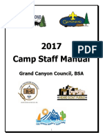 2017 Camp Staff Manual