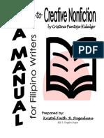 Module to Creative Nonfiction