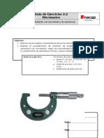 Guía 2.2 - Micrómetros