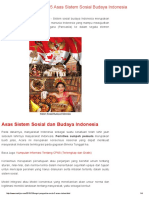 11. Fungsi, Pengertian Serta 5 Asas Sistem Sosial Budaya Indonesia - MARKIJAR