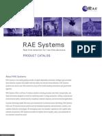 RAE Product Catalogue