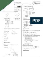 Matemática - Caderno de Resoluções - Apostila Volume 2 - Pré-Universitário - mat5 aula07