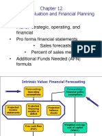 1. Financial Planning and Frecasting_ch. 12