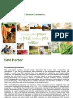 FRPT Freshpet presentation  June 2017