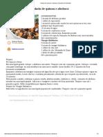 Salada de Quinoa e Abobora _ Daniela de Almeida